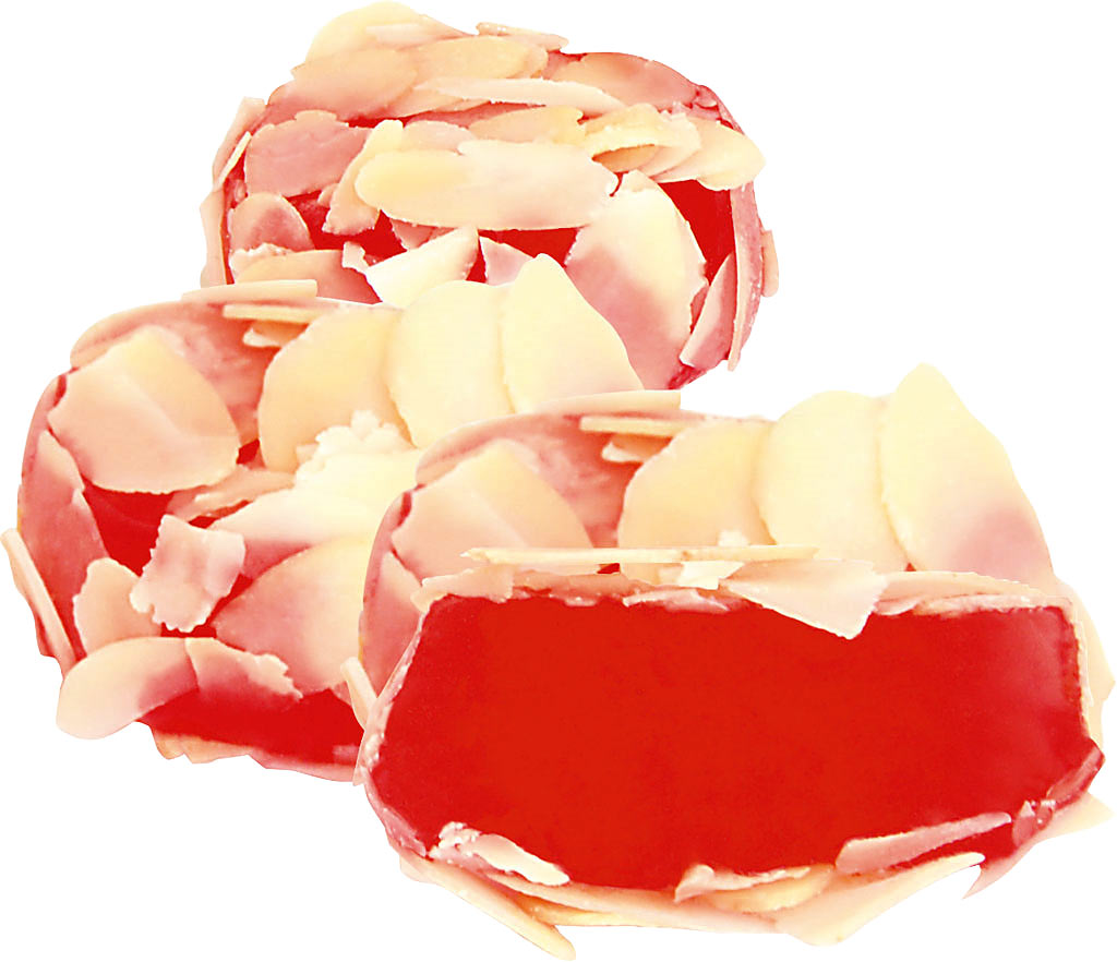 Almond Coated Rose Turkish Delight (Lovly)