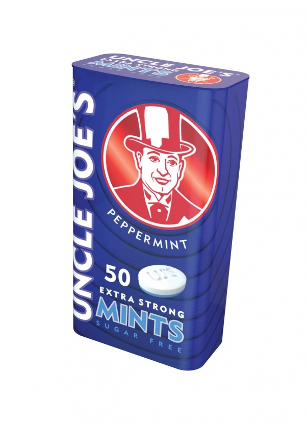 Uncle Joe's Sugar Free Mints Tin