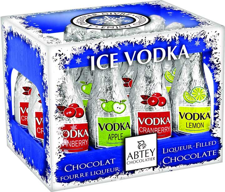Vodka Ice  Chocolate Liqueurs (Abtey)  Best Before End June 2018