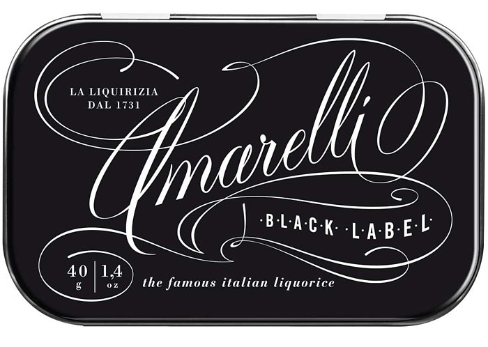 Amarelli Black Label Liquorice