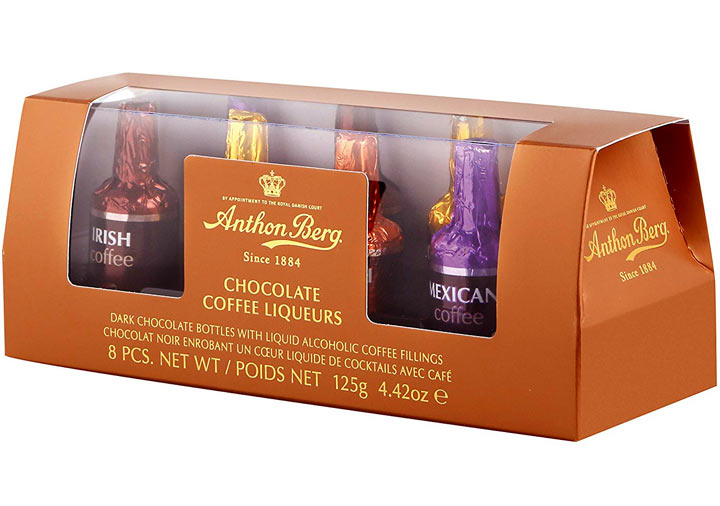 Anthon Berg Coffee Liqueurs 8pcs / 125g