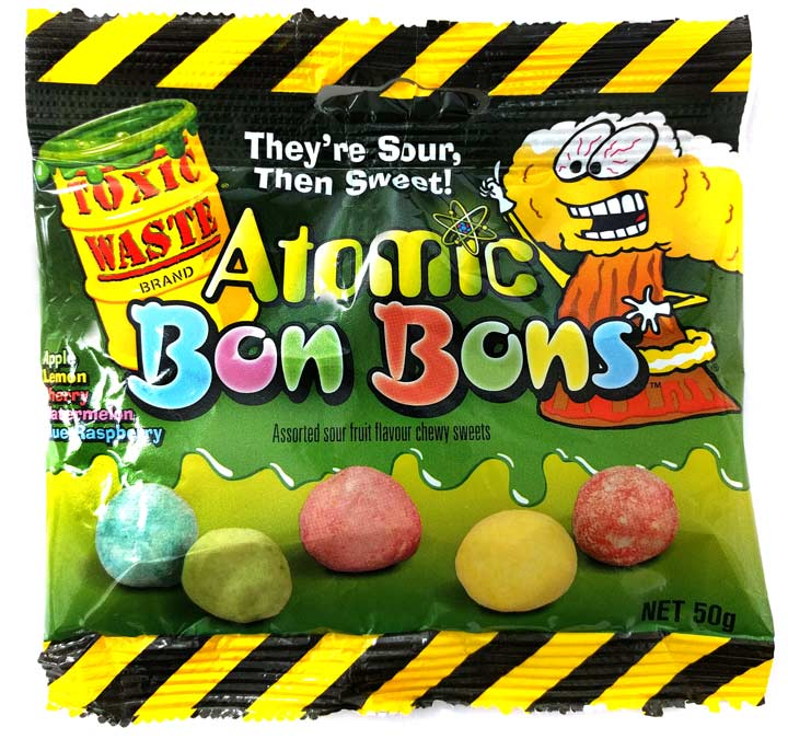 Atomic Bon Bons Chewy Sour Sweets