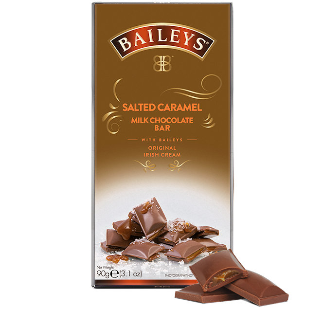 Baileys Chocolate Salted Caramel Bar 90g