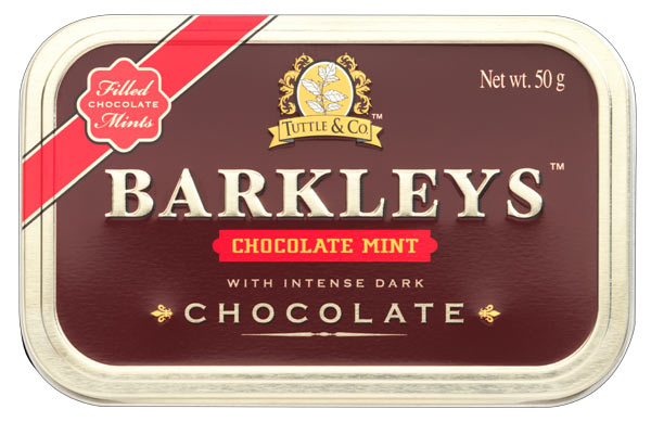 Barkley's Chocolate Mints (best before 30.04.19)