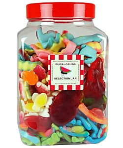 Bugs and Grubs Selection Jar