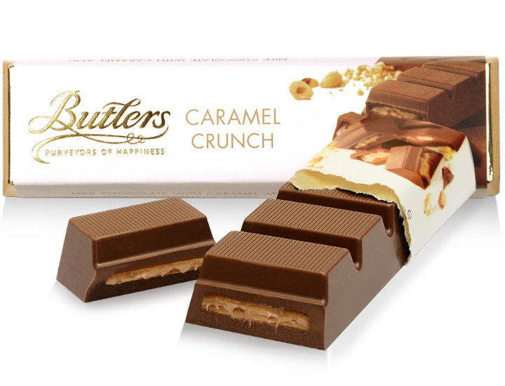 Butlers Caramel Crunch Chocolate Truffle Bar 75g [Best Before 02.09.20]