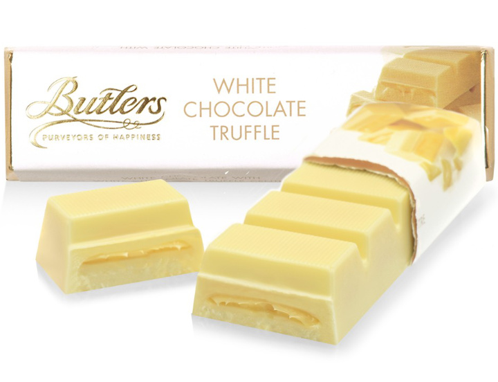Butlers White Chocolate Truffle Bar 75g