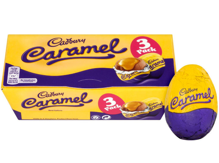 Cadbury Caramel Eggs 3 Pack