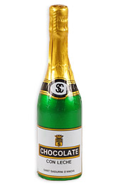 Chocolate Champagne Bottles