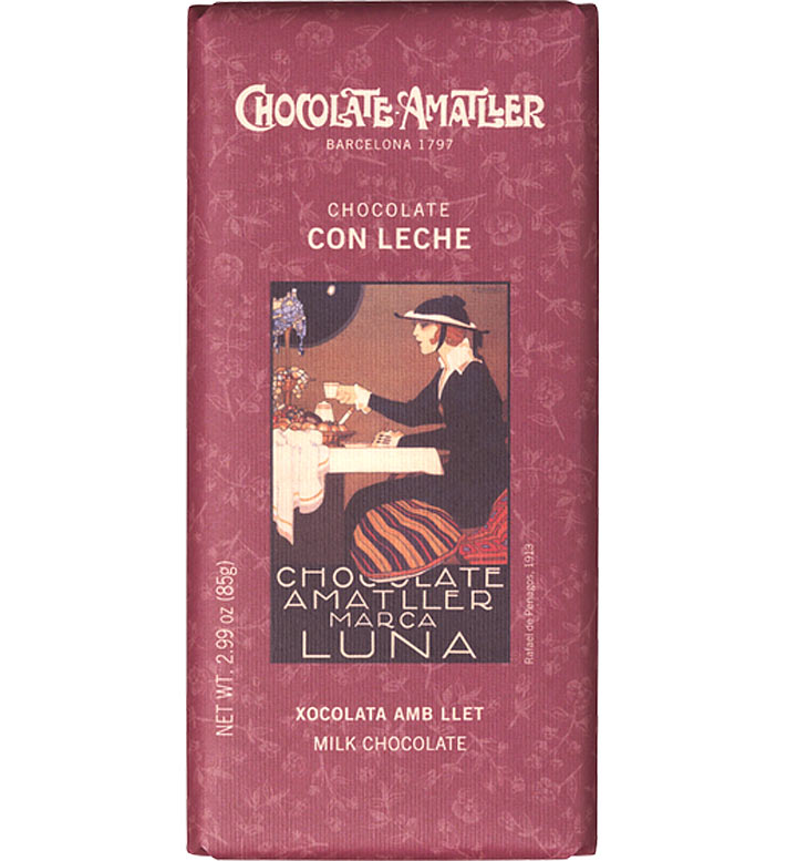 Amatller Milk Chocolate Bar (From Barcelona) 85g