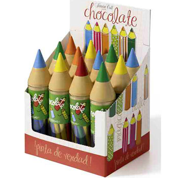 Giant Pencils (Chocolate)