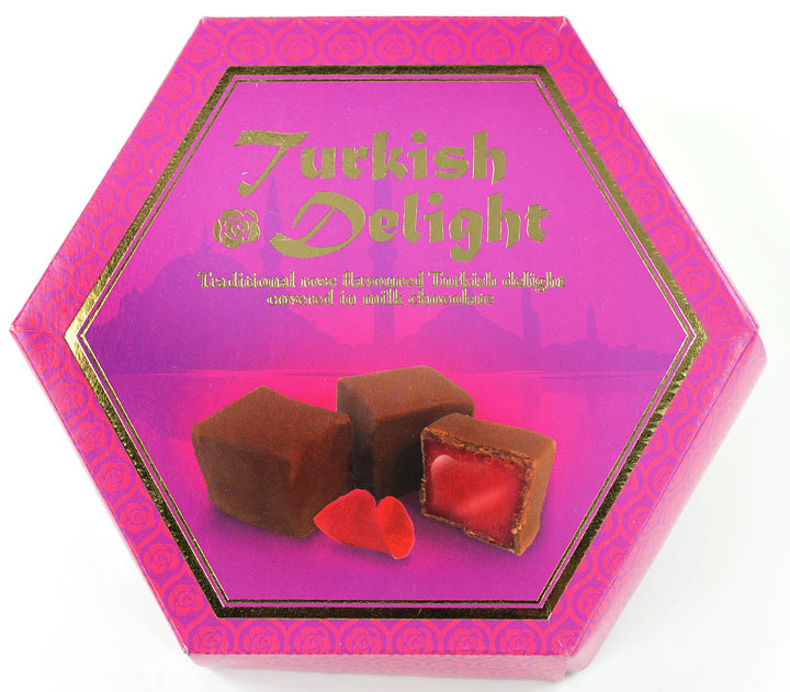 Chocolate Covered Rose Turkish Delight Gift Box 150g