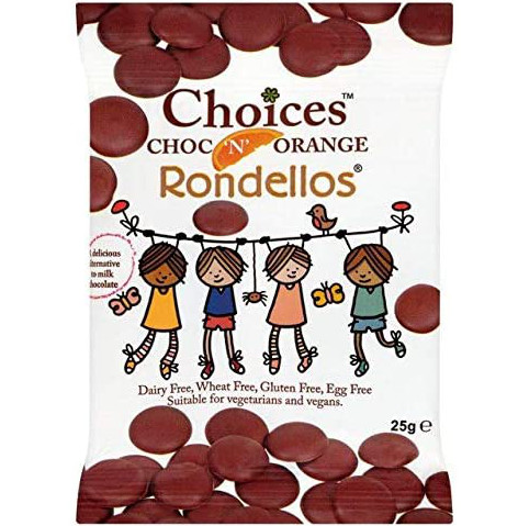 Choices Choc 'N' Orange Rondellos (Free From)