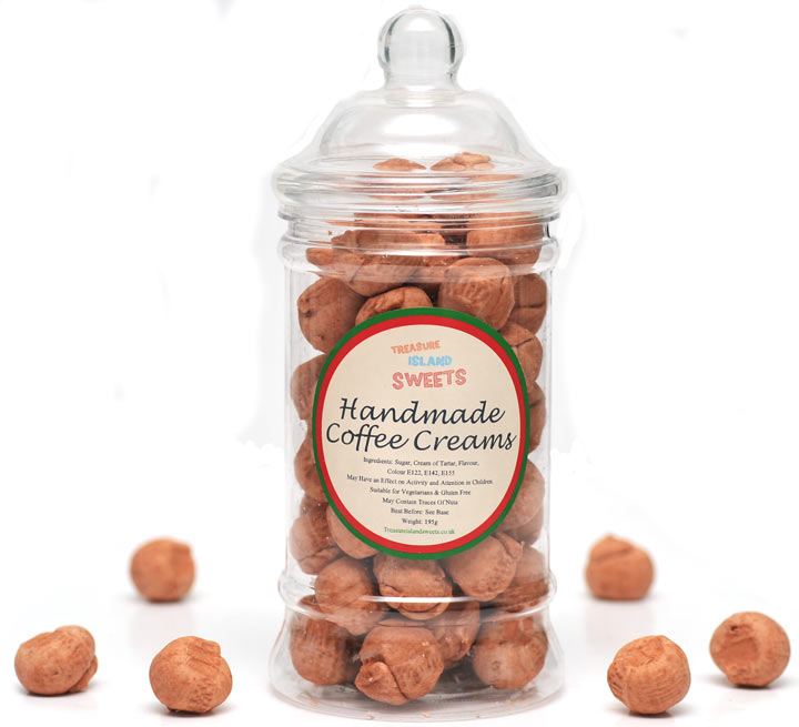 Coffee Creams (Hand-Made) - Victorian Sweet Jar