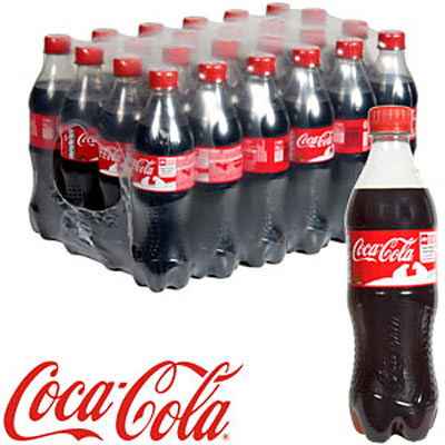 Coke Coca-Cola 500ml Bottle Case Of 24