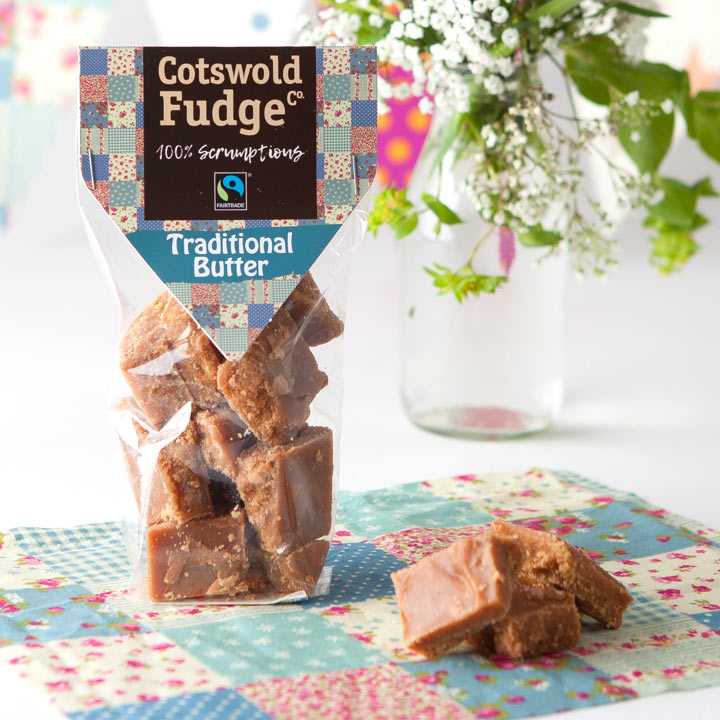 Cotswold Traditional Butter Fudge (Fairtrade) 150g