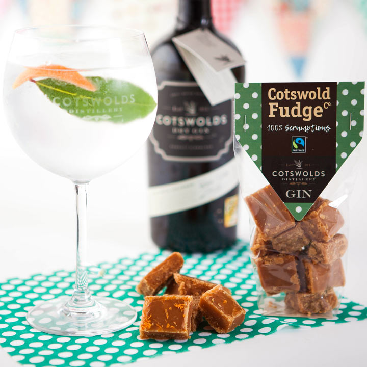Cotswold Gin Fudge  (Fairtrade) 150g
