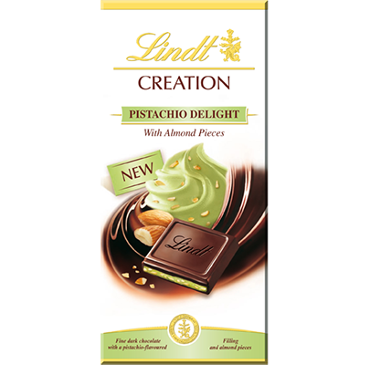 Lindt Pistachio Delight Chocolate Bar 150g