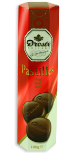 Droste Dark Chocolate Pastilles 100grams