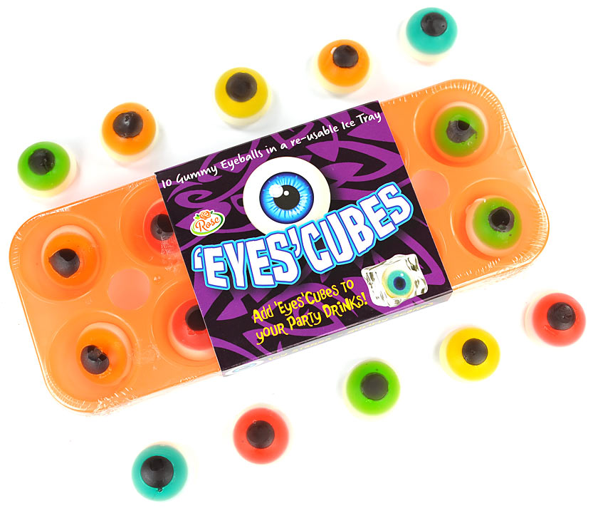 Jelly Eyeball Ice Cubes For Halloween (best before  15.06.19)