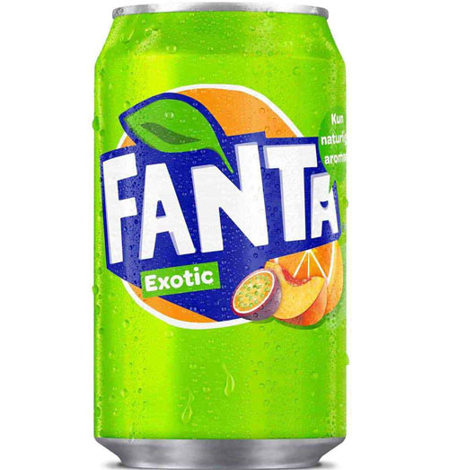 Fanta Exotic USA Soda Can 355m