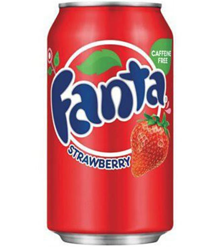Fanta Strawberry USA Soda Can 355ml