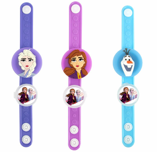 FROZEN 2 FLASHING DISNEY WRISTBAND (With Fruity Sweets)