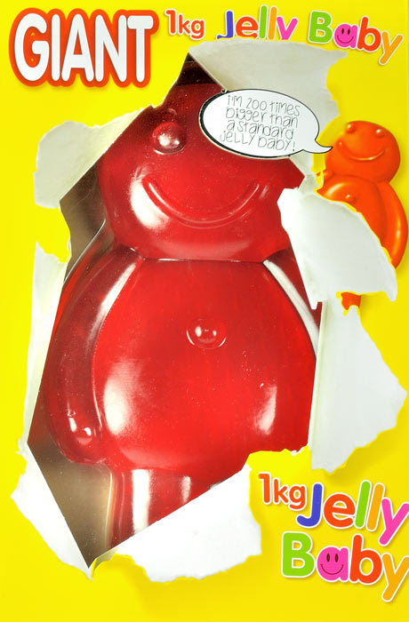 Giant Jelly Baby - 800g Super Size