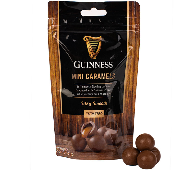 Guinness Mini Chocolate Caramels Pouch 102g