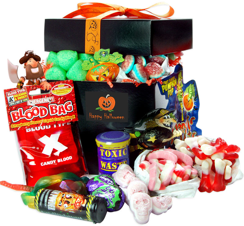 Two Beards Trick Or Treat Sweet Hamper