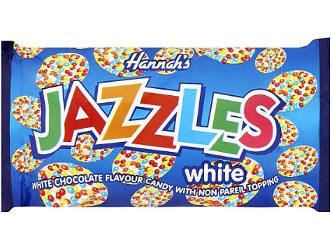 White Jazzles Bulk Box Of 24 Packets