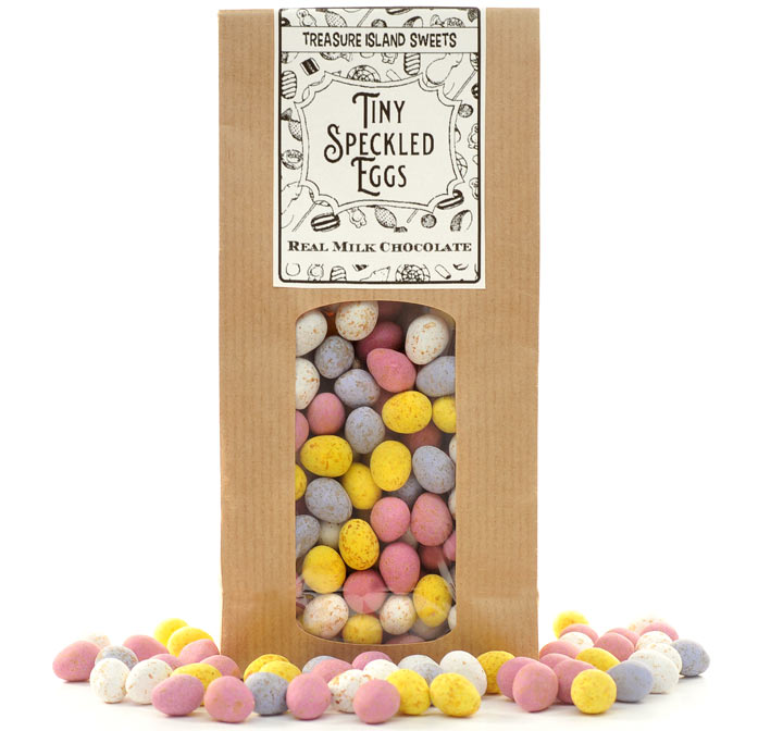 Eco Friendly Bag Of Tiny Speckled Eggs