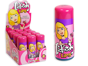 Lickedy Lips Sour Rolling Candy