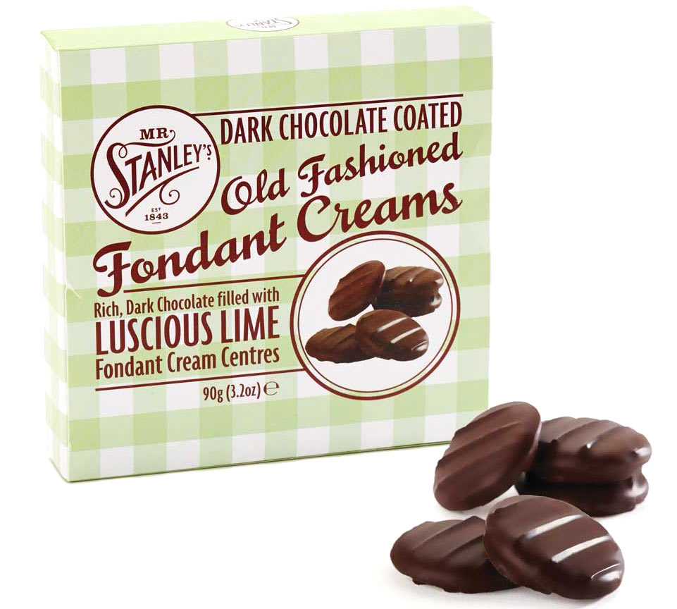Mr Stanleys Dark Chocolate Lime Creams