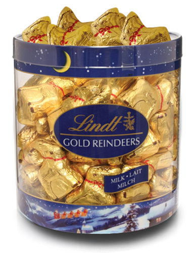 Lindt Mini Chocolate Reindeer Box Of 67
