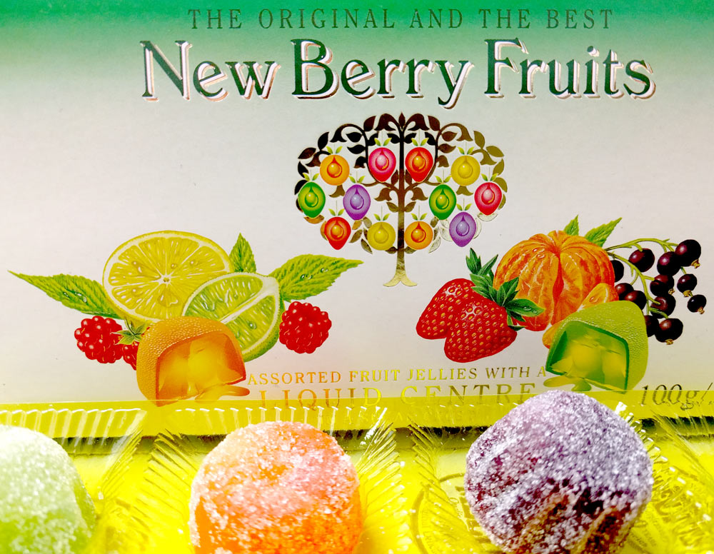 New Berry Fruits Liquid Filled Jellies 100g