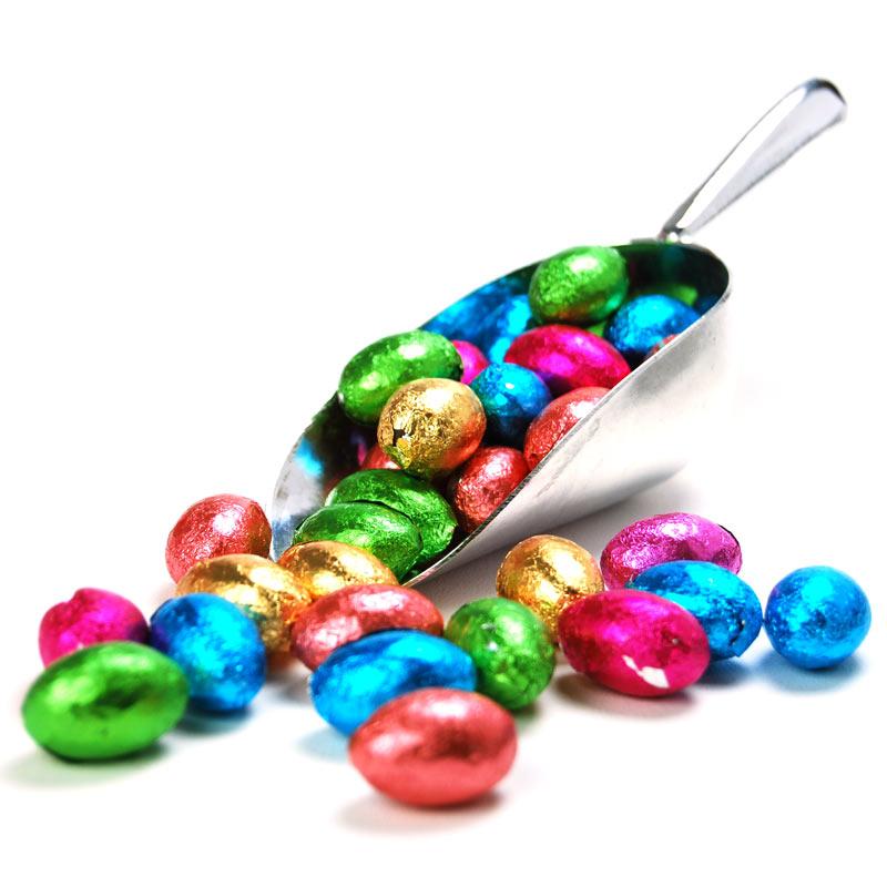 Milk Chocolate Mini Easter Eggs 600 Bulk Eggs For Easter Egg Hunts