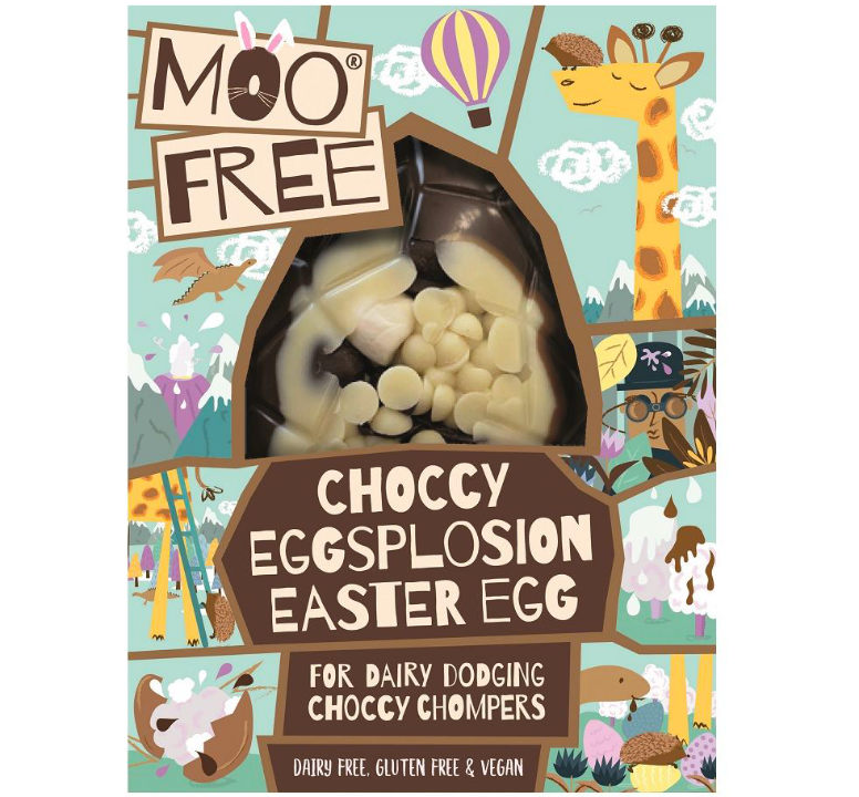 Dairy & Gluten Free Choccy Explosion Easter Egg (Moo Free)