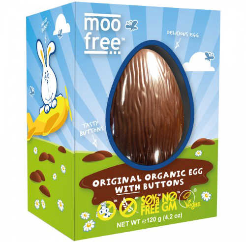 Dairy & Gluten Free Easter Egg Moo Free