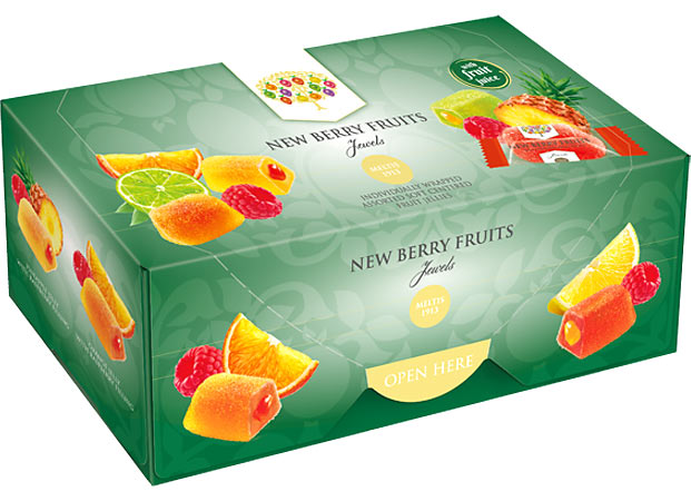 New Berry Fruits Jewels 300g Gift Box