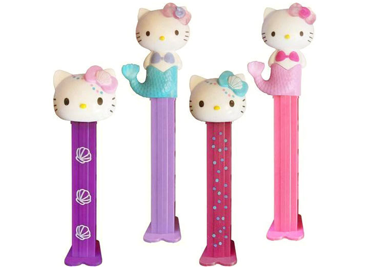 PEZ Hello Kitty Mermaid (Pack of Two)