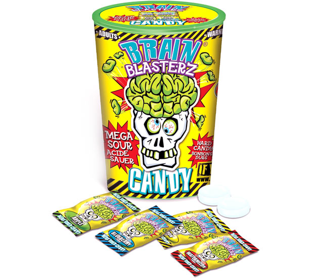 Brain Blasterz Mega Sour Candy