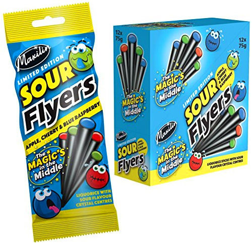 Liquorice Flyers (Sour) Limited Edition