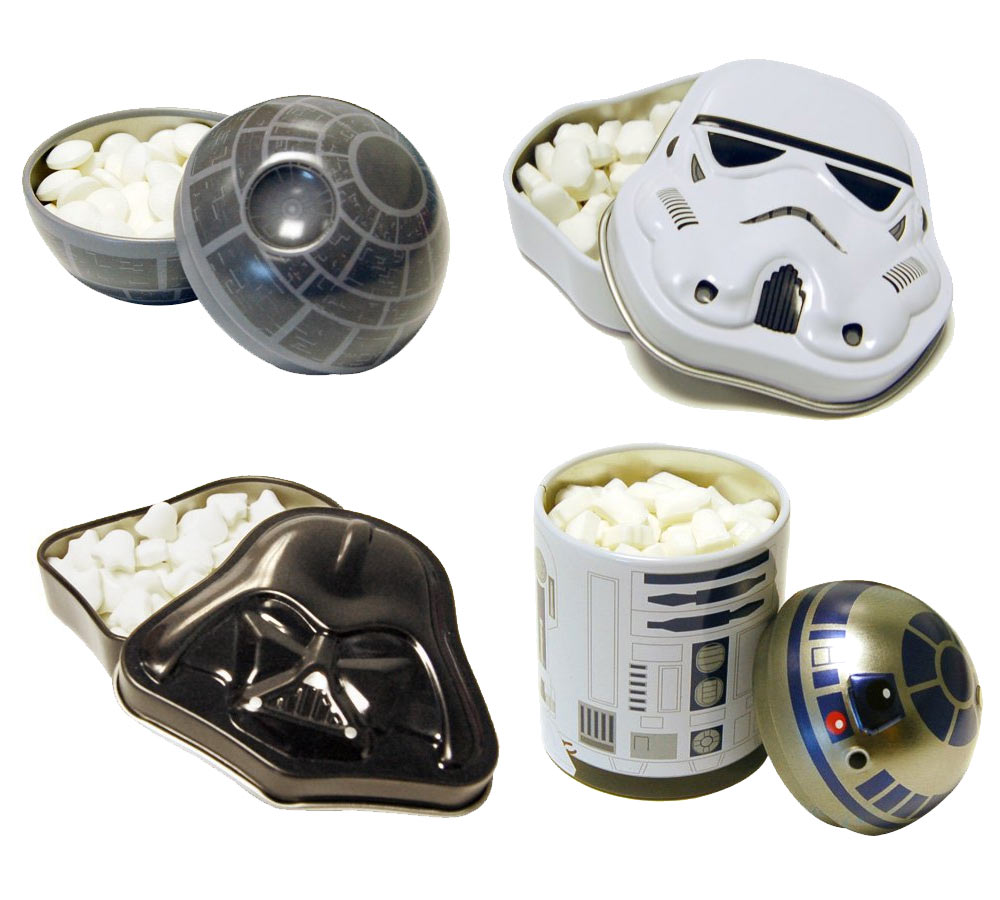 Star Wars Collectible Tins Set of 4