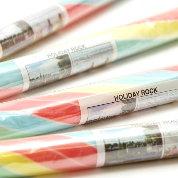 Stick Of Rock Rainbow Coloured
