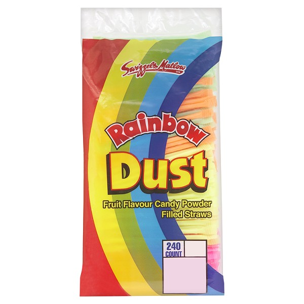 Rainbow Dust Straws (Swizzels)