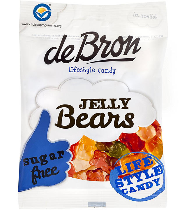 Sugar Free Jelly Bears 'De Bron' 90g
