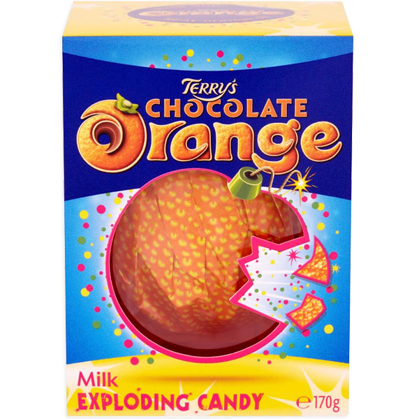 Terry's Orange Popping Candy