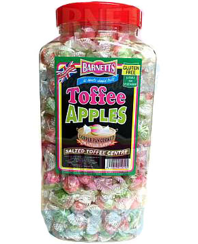 Toffee Apples (Salted Toffee Centre)