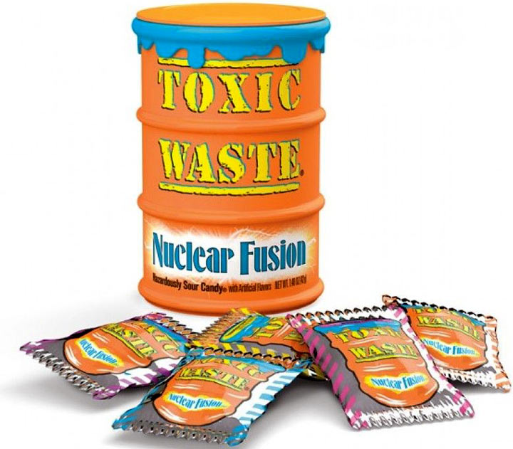Toxic Waste Nuclear Fusion Sour Candy